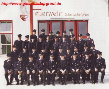 Mannschaft FF Gabelbachergreut