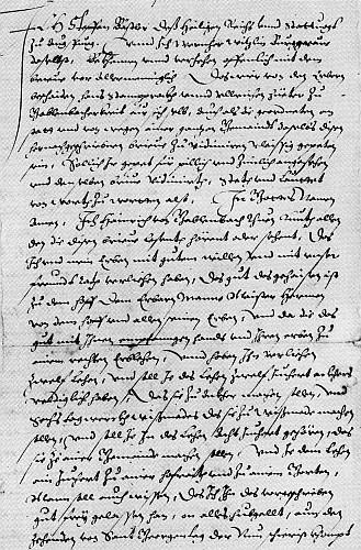Abschrift Gründungsurkunde