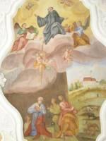 Deckenbild Kirche