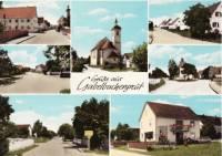 Postkarte von Gabelbachergreut der 60er Jahre